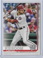2019 Topps Update Carter Kieboom Flagship Rookie Card No. US109