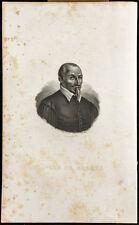 Ritratto (1834) - Olivier Serre - Agronomia - Incisione