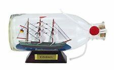 Flaschenschiff- Buddelschiff- Schiff in Flasche- Rickmers -L 16 cm