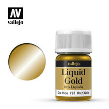 Vallejo Liquid Gold - Rich Gold (70.793) NEW Acrylic Paint