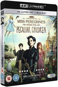 Miss Peregrine's Home for Peculiar Children (4k Ultra HD + Blu-ray) Tim Burton