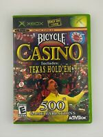 Bicycle Casino - Original Xbox Game - Complete & Tested