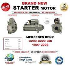 FOR MERCEDES BENZ C200 C220 CDi 1997-2006 STARTER MOTOR 2.0kW 11-Teeth BRAND NEW
