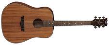 Dean 6 String AXS Dreadnought Solid Acoustic Guitar - Satin Natural AX D MAH