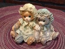 "Calico Kittens- Priscilla Hillman ""You're Always There When I Need You"" Figurine"