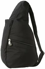 AmeriBag Classic Microfiber Healthy Back Pack Bag tote X-Small, Black, One Size