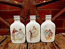Shabby chic perfume bottles / flasks, handmade, Mother's Day gifts