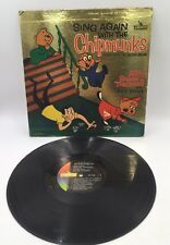 Alvin And The Chipmunks Sing Again With The Chipmunks LP Gold Foil LP