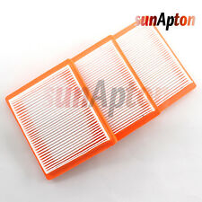3x Air Filter For Kohler XT650 XT675 Replaces 14 083 15-S 14 083 16-S Engines