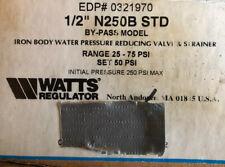 Watts Iron Body Water Pressure Reducing Valve And Strainer