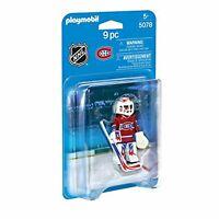 New Factory Sealed Playmobil #9026 NHL Vancouver Canucks Goalie