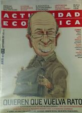 Rodrigo Rato: Revista Actualidad Económica (Septiembre 2011)