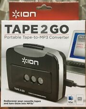 Ion Tape 2 Go Portable Cassette Player w/ MP3 Converter NEW Walkman