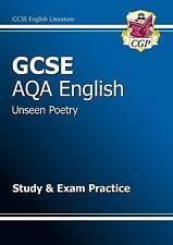 GCSE AQA English Unseen Poetry Study and Exam Practice Book-CGP Books, CGP Books