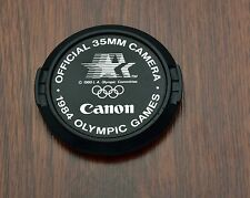 Genuine Canon FD 1984 Olympic Summer Games C 52mm Snap-On Front Lens Cap (#1928)