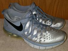NIKE Fingertrap Max Men's SILVER Training Running shoes Size 9