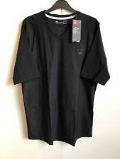 Under Armour Men's Ua HeatGear Golf Short Sleeve T-Shirt Top - Large - Black