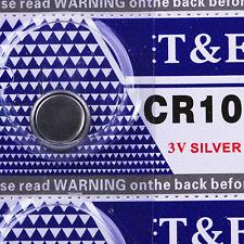 T & E 15pcs DL1025 KCR1025 BR1025 Li Li-on CR1025 batteries 3V Coin Cell