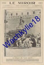 Le miroir n°29 du 13/10/1912 Ferdinand Bulgarie  Mecque Arabie Saoudite Islam