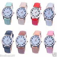 Fashion Women Watch Ladies Leather Stainless Steel Analog Quartz Wrist Watches