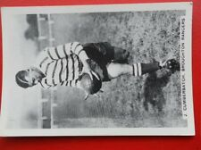 POSTCARD J CUMBERBATCH - BROUGHTON RANGERS RUGBY LEAGUE 1909-1972