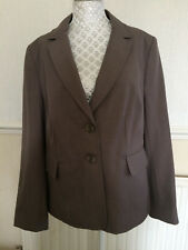 Debenhams The Collection Ladies Taupe Jacket BTWT Work Formal Size 16