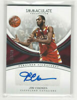 2016-17 Immaculate Collection #HS-JCH Jim Chones Auto #d 13/99 Cavaliers