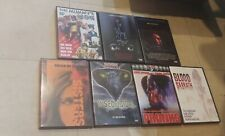 Rare OOP Horror Lot DVD Driller Killer-Pranks-Bloody Sabbath and much more!!