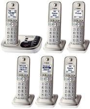 Panasonic KX-TGD226 (KX-TGD220N + 5 Handset) DECT 6.0 Plus Cordless Phone System
