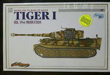 Cyber Hobby 1/35 Sd.Kfz.181 Pz.Kpfw.VI Tiger I Ausf E Feb 1944 Prod LTD #6650