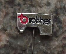 Brother Industries Sewing Machine Advertising Japanese Electronics Pin Badge