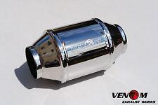 "2.5"" High Flow VENOM Metal Cat - VN VP VR VS VT VX VY VZ VE EXHAUST LS1 LS2 V8"
