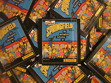 Panini simpsons 4 springfield collection - 50 pochettes - 250 stickers