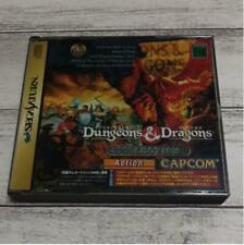 Dungeons & Dragons Collection SS CAPCOM Sega Saturn From Japan