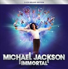Immortal [Deluxe Edition] by Michael Jackson (CD, Nov-2011, 2 Discs, Epic)