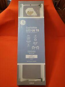 GE LED 13-Watt 22.5-in Cool White Ubend LED Tube Light Bulb 4000 k