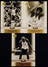 (3) CT CARD LOT - JULIUS ERVING 2011 UD ALL TIME GREATS #/50 - 76ERS - X1103