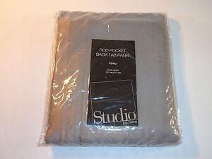 JC Penney Studio Back Tab Curtain Panel - Finley Gull