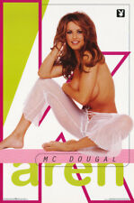 POSTER : PLAYBOY :  KAREN McDOUGAL  1999 - FREE SHIPPING !  #3546       LP32 P
