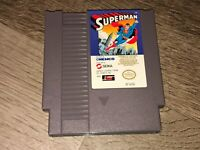 Superman Nintendo Nes Cleaned & Tested Authentic