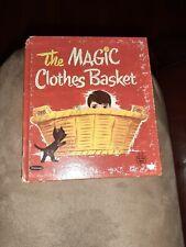 THE MAGIC CLOTHES BASKET  Whitman Tell a Tales 1969 Sharon Thomas