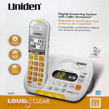 🔺UNIDEN DECT 6.0 CORDLESS PHONE with CALLER ID ANSWERING SYSTEM🔻