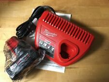 Milwaukee 48-11-2440 M12 XC 4.0 Extended Capacity Battery And 48-59-2401 Charger