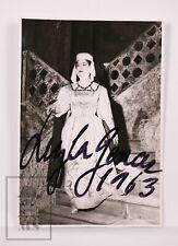 Original Signed Photograph by the Turkish Opera Singer Leyla Gencer, 1963