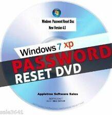 Window Password Recovery & Reset Disk For Window Xp, 7