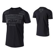 Troy Lee Design KTM Team T-Shirt Shirt Tee Freizeitshirt schwarz M