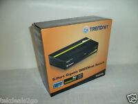 TrendNET 5-Port Gigabit GREENnet Ethernet Switch 802.3x 1000Mbps TEG-S50g NEW