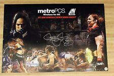 Ronda Rousey Autographed Custom MetroPCS / Armbar Nation Poster
