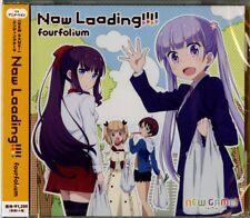 FOURFOLIUM-NEW GAME! (ANIME)' OUTRO THEME: NOW LOADING!!!!-JAPAN CD C15