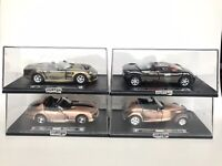 Lot Of 4 New Ray City Cruiser 1:32 Scale Viper Shelby Audi Avus Prowler Die cast